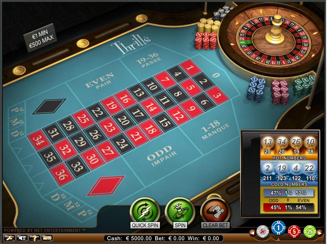 Free roulette online no download